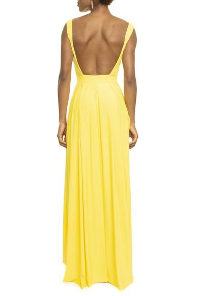 Vestido Justine Bright Yellow Anamaria Couture