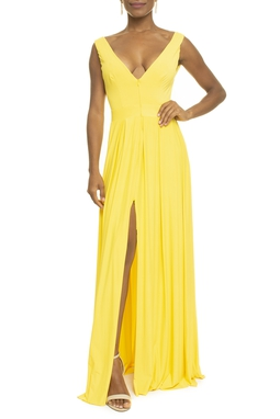 Vestido Justine Bright Yellow
