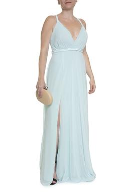 Vestido Azul Fenda - DG14736