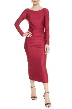 Vestido Kooe Marsala - DG14057