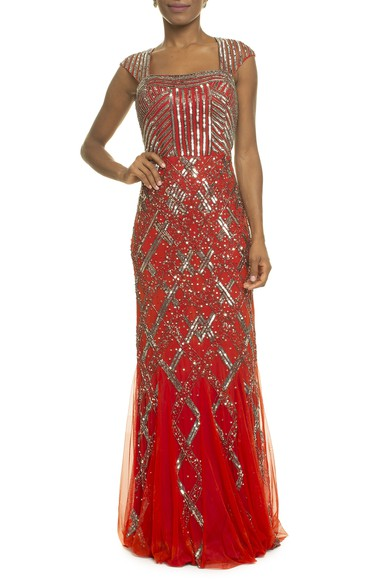 Vestido Kourtney Red Iorane