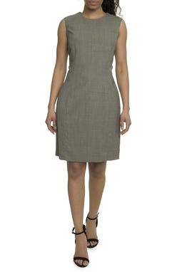 Vestido Lã Checked - DG17875