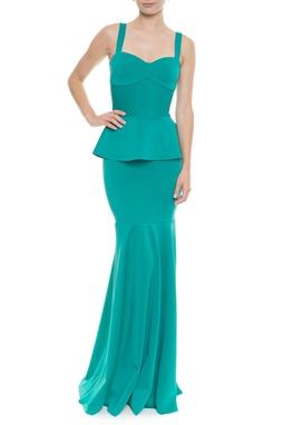 Vestido Lafaiete Esmeralda -  DG13407