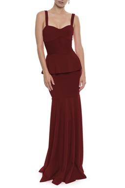 Vestido Lafaiete Vinho