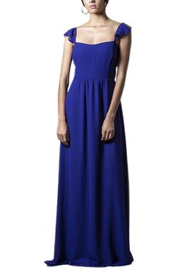 Vestido Lara Azul THM