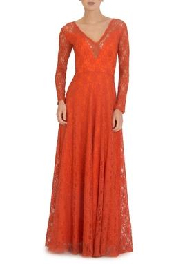 Vestido Leona Orange - DG44