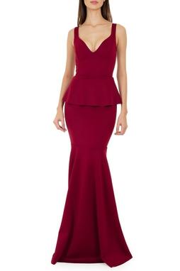 Vestido Leticia Vinho - DG14255