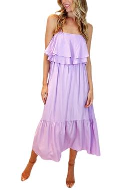 Vestido Lilás - BMD 11163