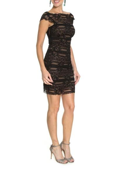 Vestido Lina Lace Nicole Miller