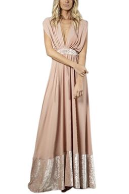 Vestido Linda Rosa THM