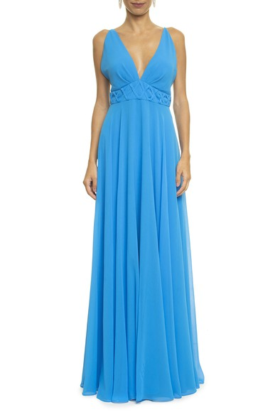 Vestido Lira Blue Simone Korody