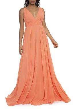 Vestido Lira Coral - DG13602