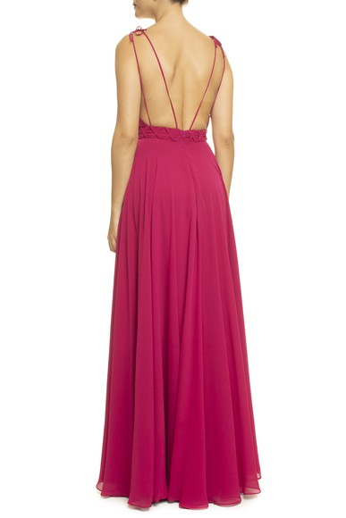 Vestido Lira Pink Simone Korody