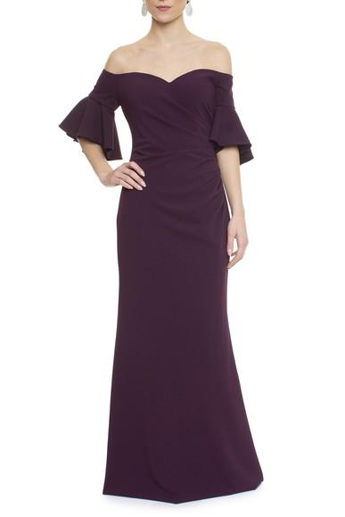 Vestido Lokelani Purple Calvin Klein