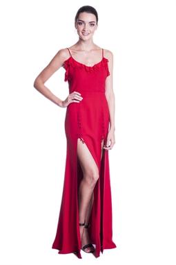 Vestido Lolla Vermelho CLM