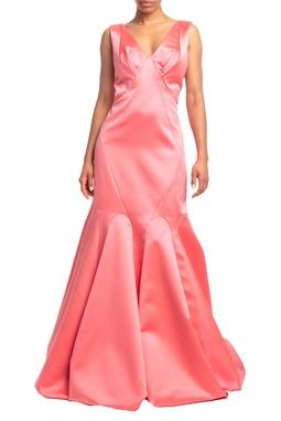 Vestido Longo Alça Rosa HM - DG18724