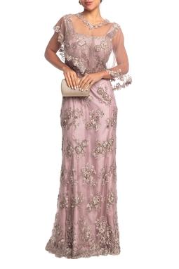 Vestido Longo Alça Rosa HM - DG18827