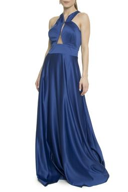 Vestido Longo Azul - DG17921