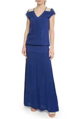 Vestido Longo Azul Royal - DG18105