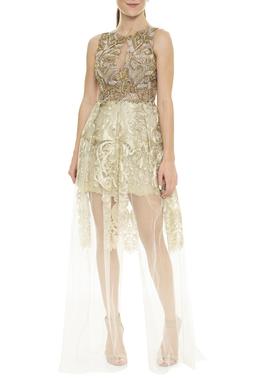 Vestido Longo Bordado - DG15923