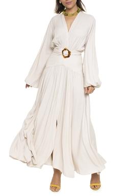 Vestido Longo Cinto Fivela - DG16722