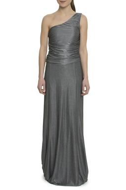 Vestido longo cinza - DG17914