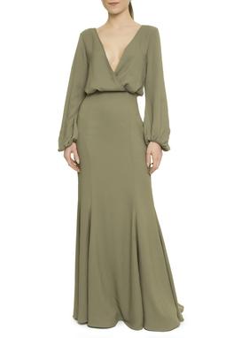 Vestido Longo Cordão Green - I16EPVT06