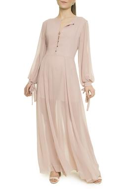 Vestido Longo Fendas - I18C1VT18