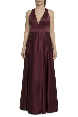 Vestido Longo Marsala - DG17891