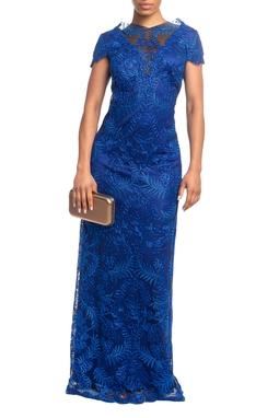 Vestido Longo MC Azul HM - DG18824