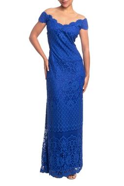 Vestido Longo MC Azul HM - DG18831