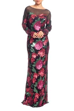 Vestido Longo ML Estampado HM - DG18853