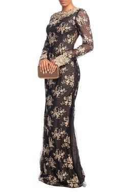 Vestido Longo ML Preto HM - DG18836