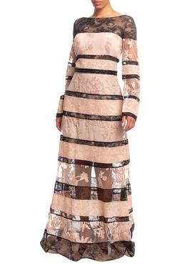 Vestido Longo ML Rosê HM - DG18735