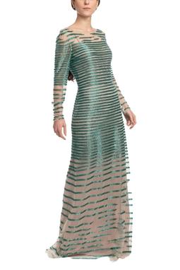 Vestido Longo ML Verde HM - DG18696