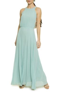 Vestido Longo Plissado - DG17462