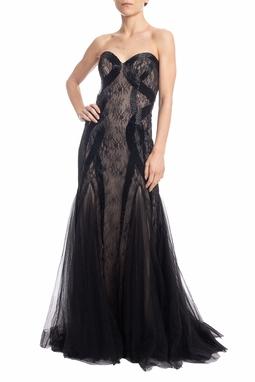 Vestido Longo Preto - DG18389