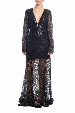 Vestido Longo Preto - DG18462