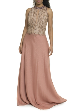 Vestido Longo Rosa - DG17923
