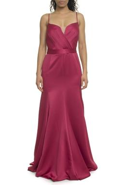 Vestido Longo Rosa - DG17959