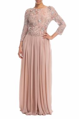 Vestido Longo Rosê - DG18468