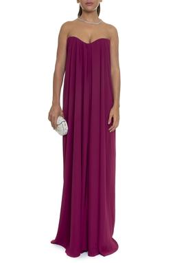 Vestido Longo Solto Roxo - DG15921