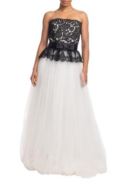 Vestido Longo TQC Branco HM - DG18830