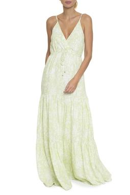 Vestido Longo Transpassado Camadas - DG16584