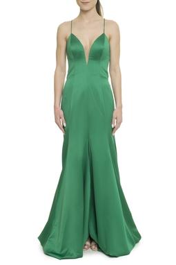 Vestido Longo Verde - DG17918