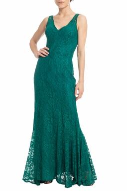 Vestido Longo Verde - DG18382