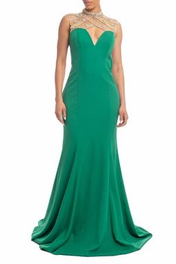 Vestido Longo Verde - DG18387