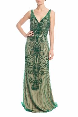 Vestido Longo Verde - DG18388