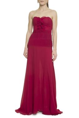 Vestido Longo Vermelho - DG18107