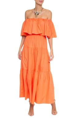 Vestido Longuete Ombro A Ombro - 130333